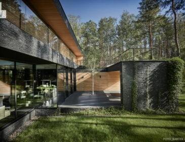 Dom Leśny – budynek, który idealnie komponuje się z otaczającą go przyrodą