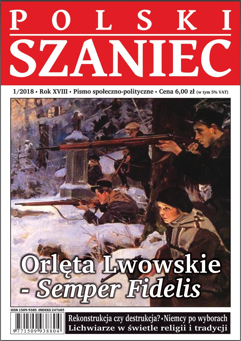 """""""Polski Szaniec"""" numer 1/2018 już w sprzedaży!"""