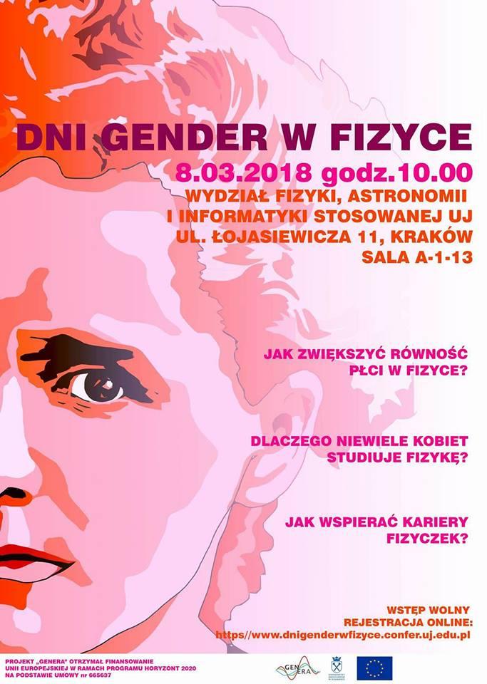 plakat gender w fizyce
