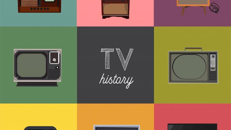 Historia telewizorów i telewizji