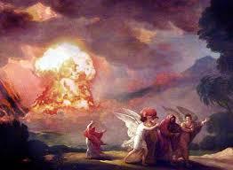Kalifornia jak Sodoma trawiona ogniem.
