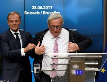 JC Junker i jego mandaryn Tusk grabnęli pod choinkę podwyżki pensji do 32,700€ miesięcznie