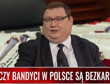 """Czy bandyci w Polsce są bezkarni? Maciej Lisowski w programie """"Gorące pytania"""""""