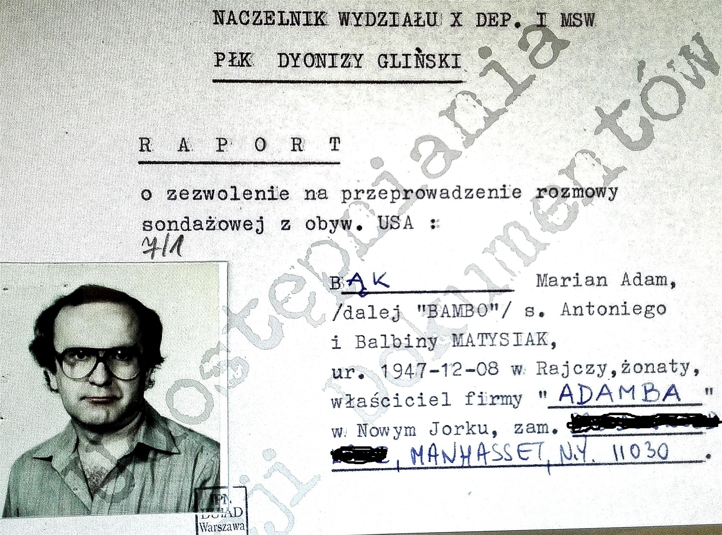 """Adam Bąk """"BAMBO"""" – Tomasz Sommer """"PINOKIO"""""""