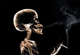 Smak dymu tytoniowego jest oddechem śmierci